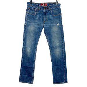 Levi's 511 Skinny Slim Fit Distressed Jeans